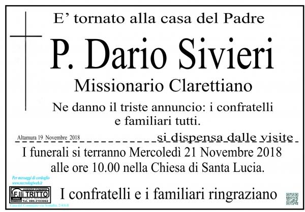 Padre Dario Sivieri