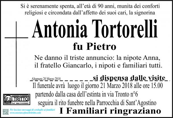 Antonia Tortorelli