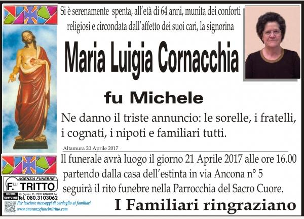 MARIA LUIGIA CORNACCHIA