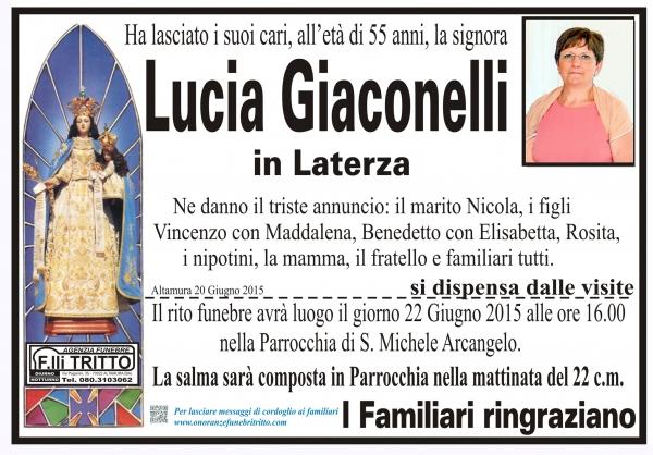 LUCIA GIACONELLI