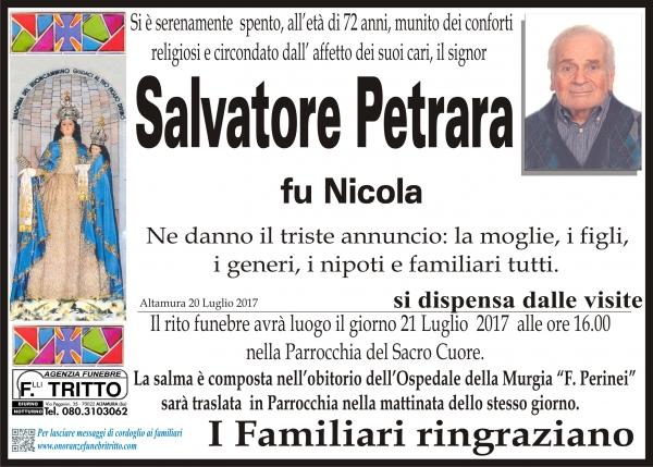 Salvatore Petrara
