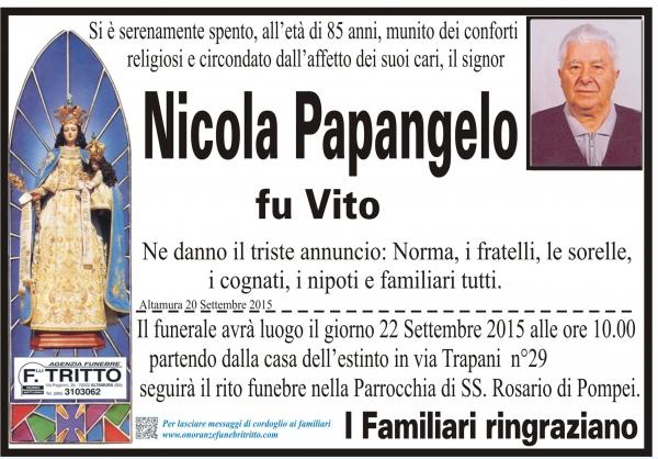 NICOLA PAPANGELO