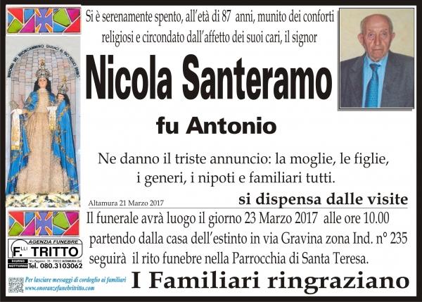 NICOLA SANTERAMO