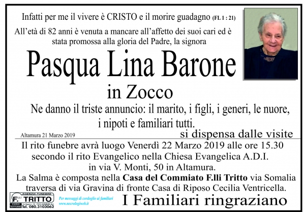 Pasqua Lina Barone