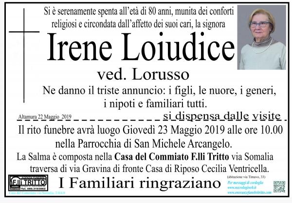 Irene Loiudice