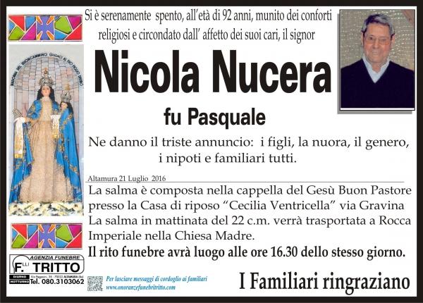 NICOLA NUCERA