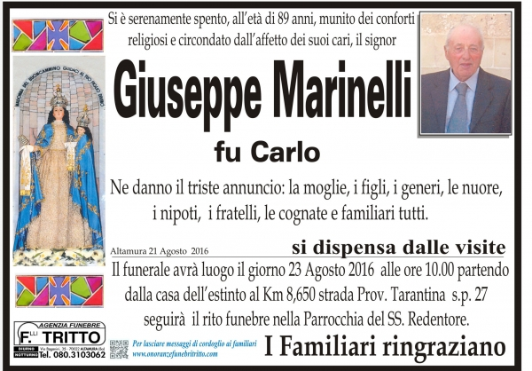 GIUSEPPE MARINELLI