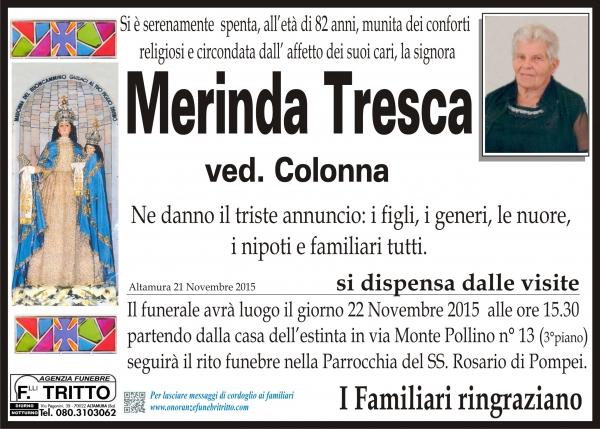 MERINDA TRESCA