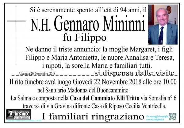 N.H. Gennaro Mininni