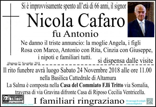 Nicola Cafaro