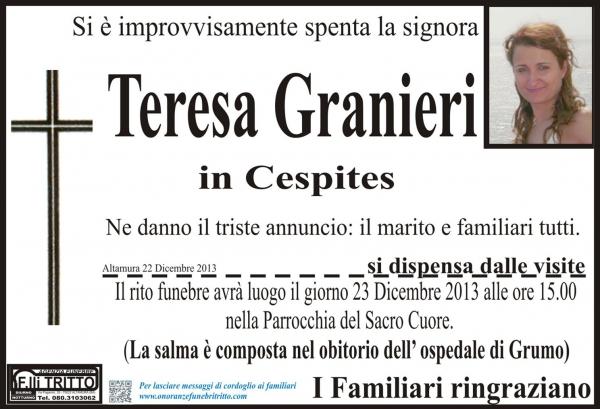 TERESA GRANIERI