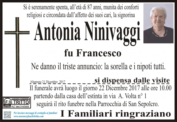 Antonia Ninivaggi