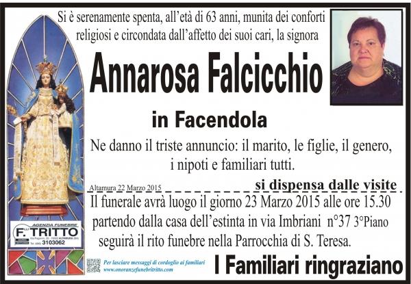 ANNAROSA FALCICCHIO