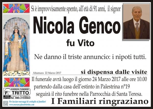 NICOLA GENCO