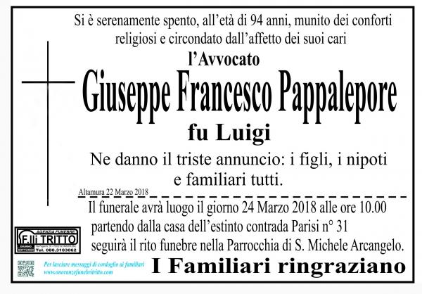 Giuseppe Francesco Pappalepore