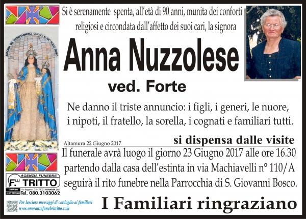 ANNA NUZZOLESE