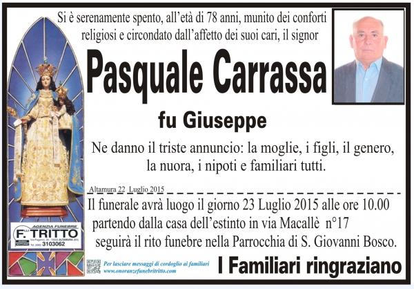 PASQUALE CARRASSA