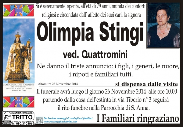 OLIMPIA STINGI