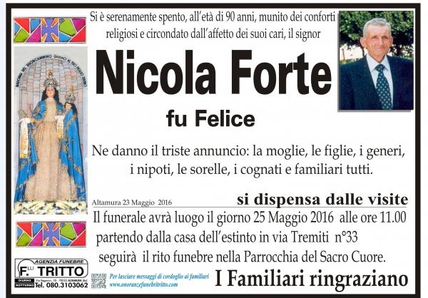 NICOLA FORTE