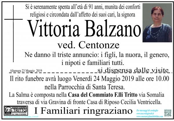 Vittoria Balzano