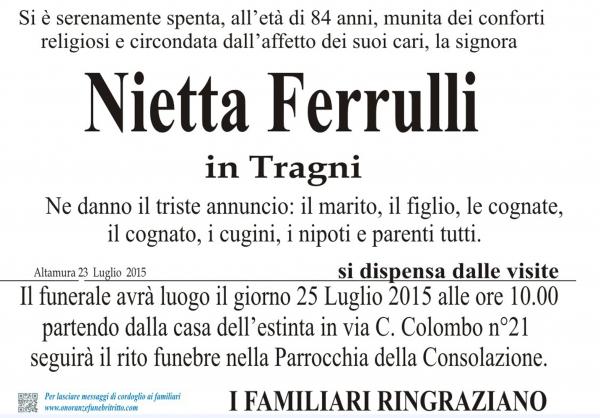 ANTONIA FERRULLI