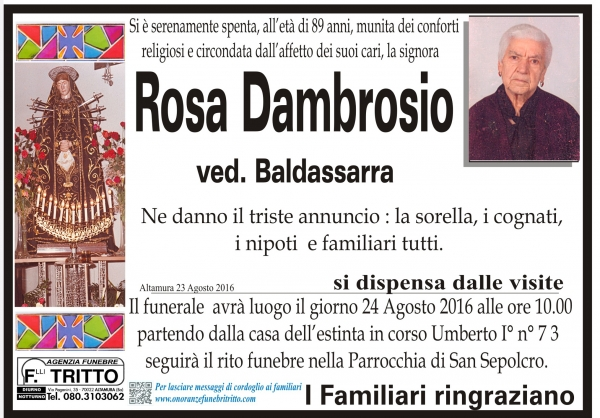 ROSA DAMBROSIO