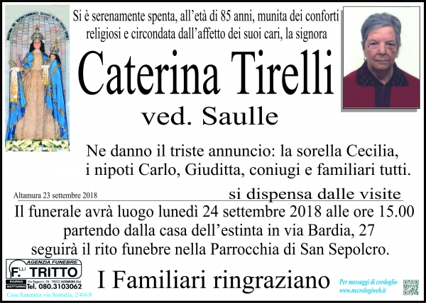 Caterina Tirelli