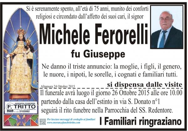 MICHELE FERORELLI