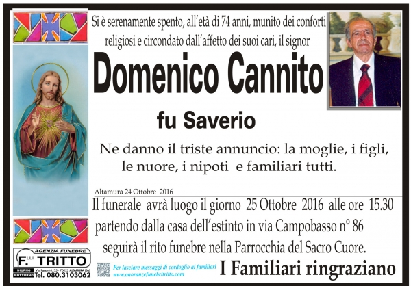 DOMENICO CANNITO