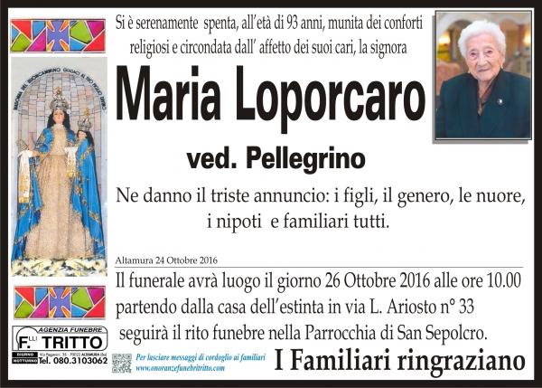 MARIA LOPORCARO
