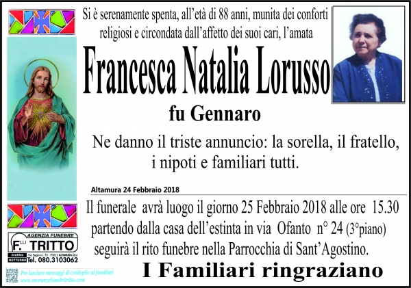 Francesca Natalina Lorusso