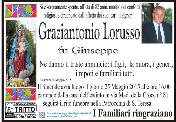 GRAZIANTONIO LORUSSO