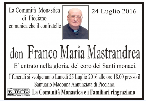 Don Franco Maria MASTRANDREA