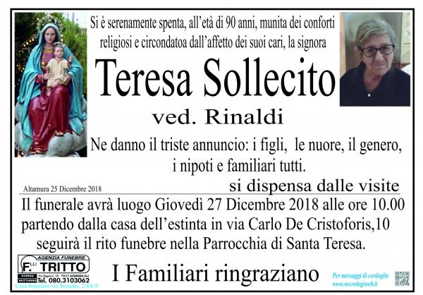Teresa Sollecito