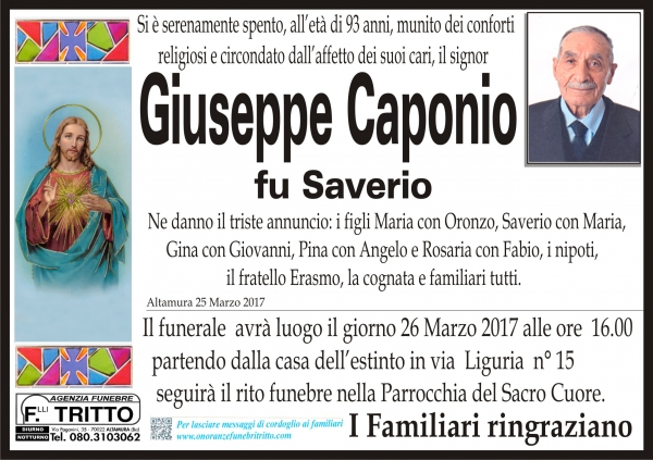GIUSEPPE CAPONIO
