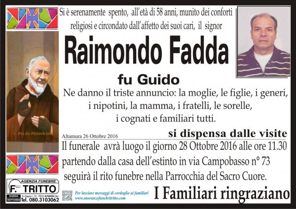 RAIMONDO FADDA