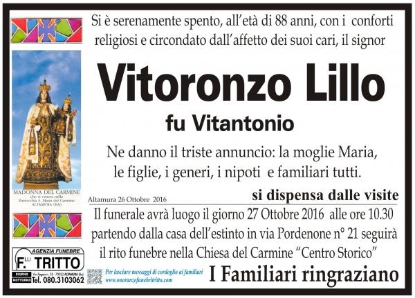 VITORONZO LILLO