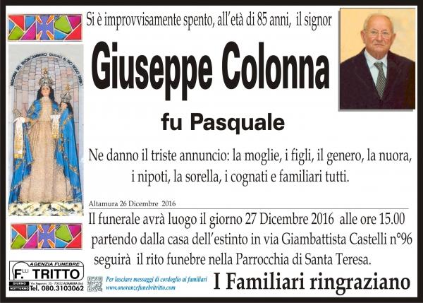 GIUSEPPE COLONNA