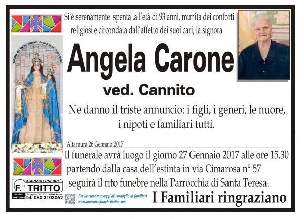 ANGELA CARONE