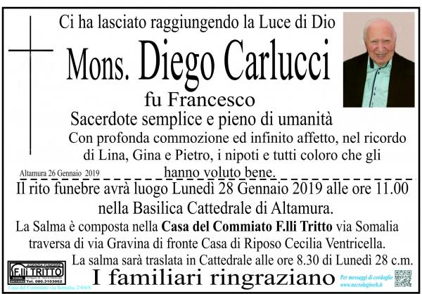 Mons. Diego Carlucci