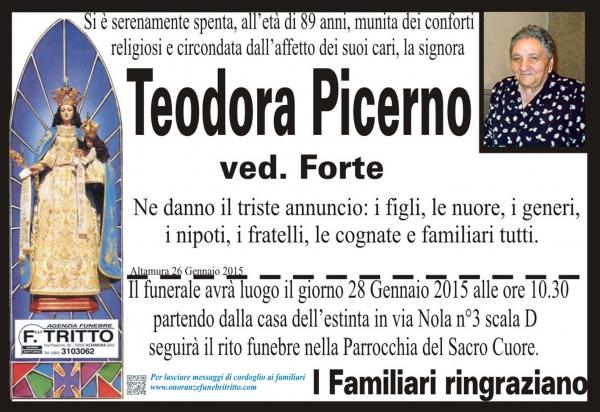 TEODORA PICERNO