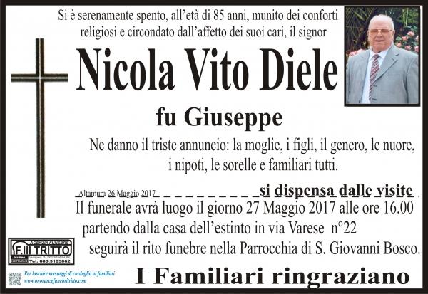 NICOLA VITO DIELE