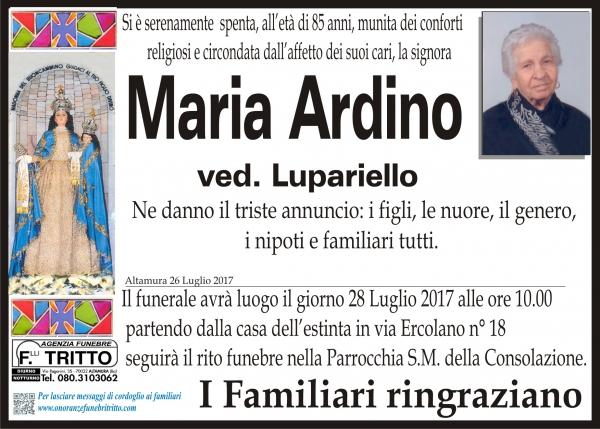 Maria Ardino