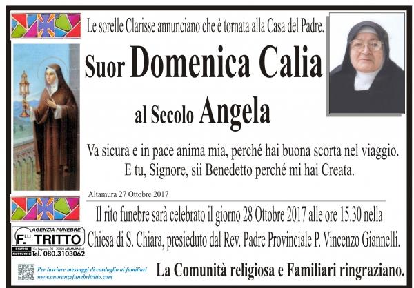 Angela (suor Domenica) Calia