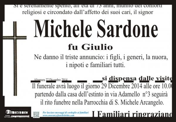 MICHELE SARDONE
