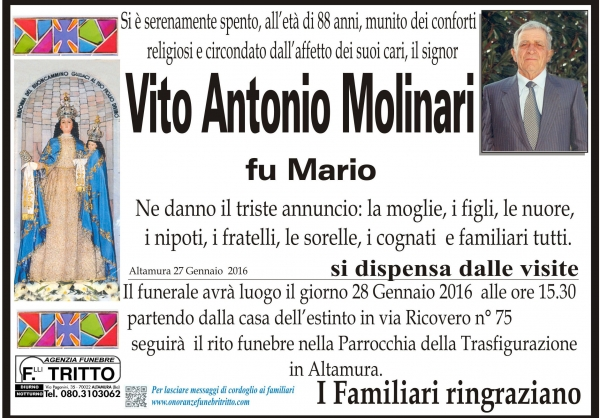 VITO ANTONIO MOLINARI