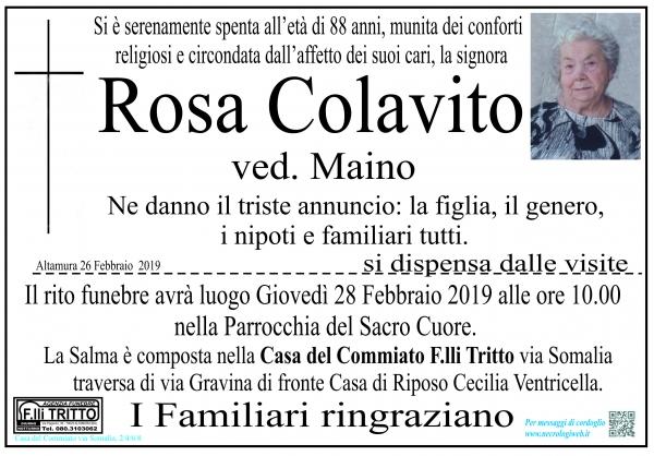 Rosa Colavito
