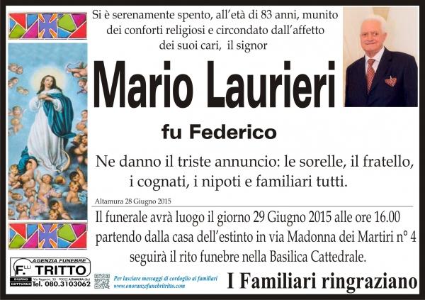 MARIO LAURIERI