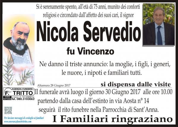 NICOLA SERVEDIO