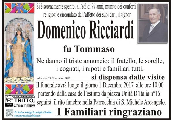 Domenico Ricciardi